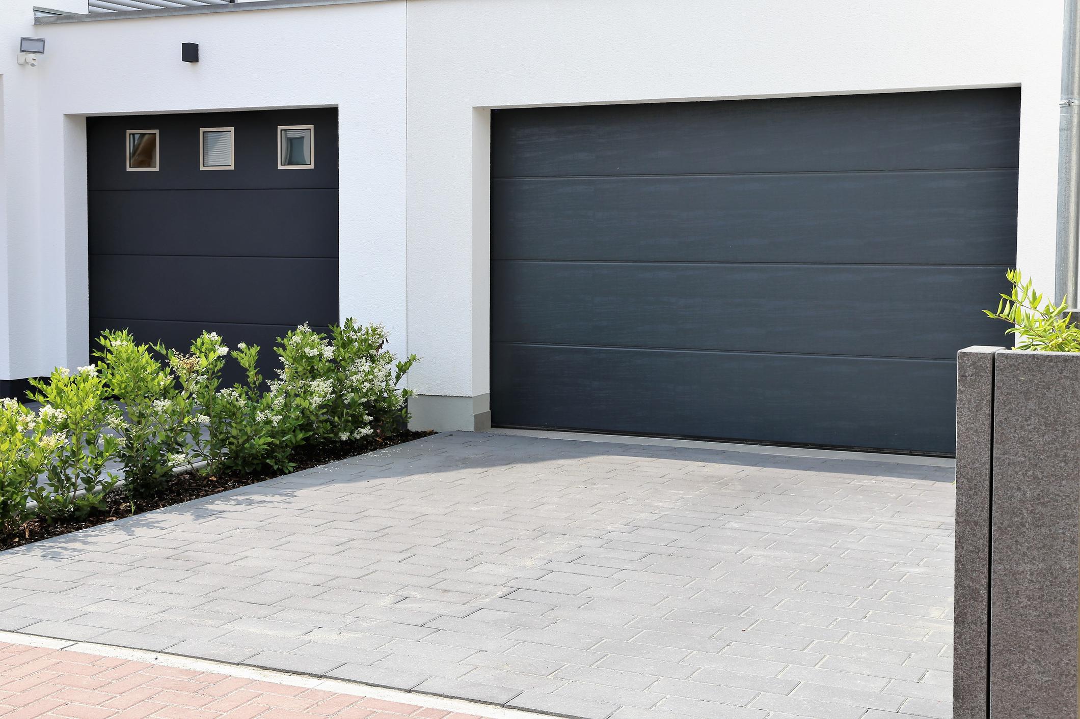 Bramy garażowe - obraz
